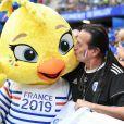 Francis Lalanne dans les tribunes lors de la 8e de finale de la Coupe du Monde Féminine de football opposant la France au Brésil au stade Océane au Havre, France, le 23 juin 2019. ©Niviere David/ABACAPRESS.COM