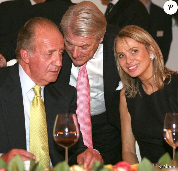 Le roi Juan Carlos et Corinna zu Sayn-Wittgenstein en Allemagne.