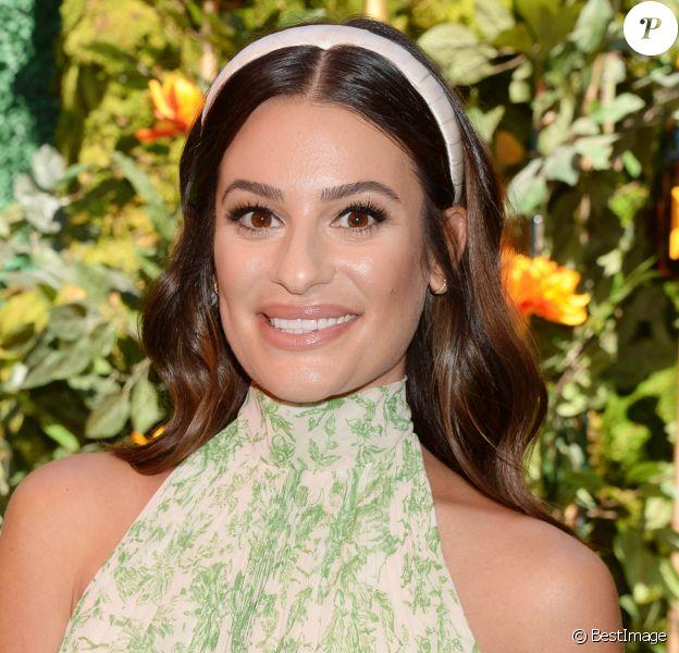 """Lea Michele au photocall de la 10ème édition de la soirée """"Veuve Cliquot Polo Classic"""" à Los Angeles"""