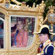 Maxima des Pays-Bas fait son arrivée pour la rentrée politique batave...