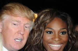 Serena Williams calme et radieuse, Alicia Keys superbe et le top Devon Aoki ont charmé Donald Trump... et sa mèche rebelle !