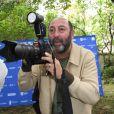 "Marina Hands et Kad Merad - Photocall du film ""Triomphe"" - Festival du film Francophone d'Angoulême 2020 le 30 Août 2020. © Guirec Coadic / Bestimage"