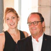 Julie Gayet soutenue par François Hollande lors du festival d'Angoulême