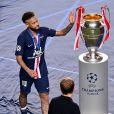 Le Bayern de Munich remporte la finale de la ligue des Champions UEFA 2020 à Lisbonne en gagnant 1-0 face au PSG (Paris Saint-Germain) le 23 Août 2020. © Pool UEFA via Bestimage