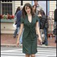 """Rebecca Hall sur le tournage de  The Town .  """