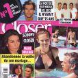 Lorie et Garou en couverture de Closer