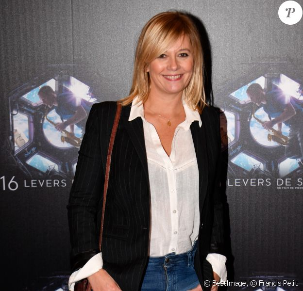 "Flavie Flament - Avant-première du film documentaire ""16 levers de soleil"" au cinéma Le Grand Rex à Paris, France, en septembre 2018. © Francis Petit/Bestimage"