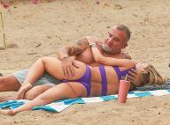 AnnaLynne McCord : Canon en bikini avec Dominic Purcell et ses mains baladeuses