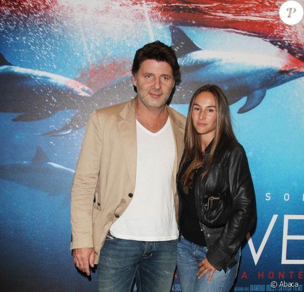 Philippe Lellouche et sa compagne Vanessa Demouy à l'avant-première de The Cove.
