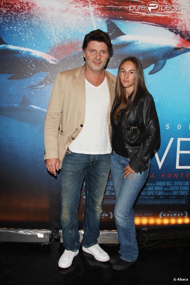 Philippe Lellouche et sa compagne Vanessa Demouy à l'avant-première de  The Cove .