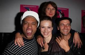Quand Doc Gyneco trinque avec la jolie Lucie Jeanne et Maxime... bonne humeur assurée !