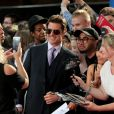 """Tom Cruise - Les célébrités posent lors du photocall de la première du film """"Mission : Impossible - Fallout"""" à Londres le 13 juilllet 2018."""