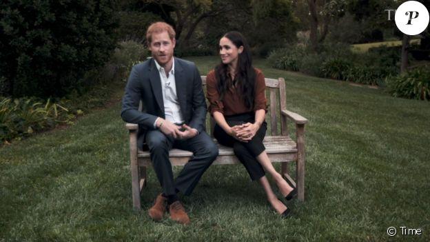 """Le prince Harry et Meghan Markle appellent les Américains à voter lors des prochaines élections présidentielles du 3 novembre 2020. Le 22 septembre 2020 pour """"Time Magazine""""."""