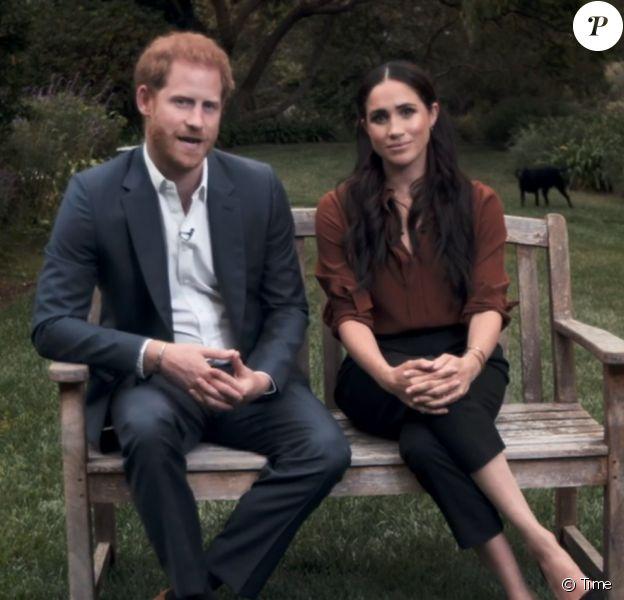 """Le prince Harry et Meghan Markle appellent les Américains à voter lors des prochaines élections présidentielles aux Etats-Unis. """"Time Magazine""""."""