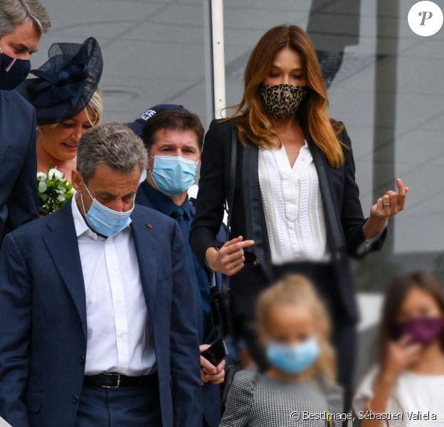 Carla Bruni Et Nicolas Sarkozy Leur Fille Giulia Favorisee Par Leur Notoriete Purepeople