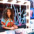 """Amel Bent - Backstage de l'enregistrement de l'émission """"300 Choeurs chantent Dassin"""" à Paris, le 15 septembre 2020 et diffusé le 16 octobre 2020. © Tiziano Da Silva / Bestimage"""