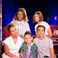 """Kids United - Backstage de l'enregistrement de l'émission """"300 Choeurs chantent Dassin"""" à Paris, le 15 septembre 2020 et diffusé le 16 octobre 2020. © Tiziano Da Silva / Bestimage"""