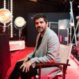 """Patrick Fiori - Backstage de l'enregistrement de l'émission """"300 Choeurs chantent Dassin"""" à Paris, le 15 septembre 2020 et diffusé le 16 octobre 2020. © Tiziano Da Silva / Bestimage"""
