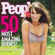Jennifer Love Hewitt en couverture du magazine  People . Juin 2010.