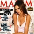 L'actrice Jennifer Love Hewitt, en Une du magazine Maxim. Mai 2009.