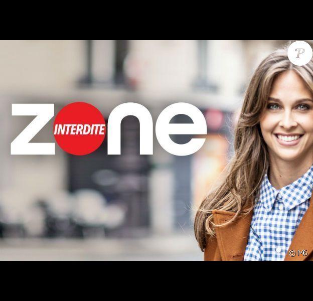 """Logo de l'émission """"Zone interdite"""" présentée par Ophélie Meunier sur M6."""
