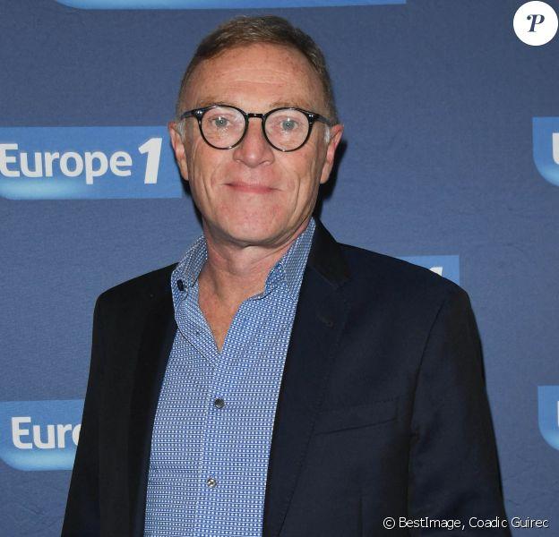 Exclusif - Christophe Hondelatte - Conférence de rentrée de la radio Europe 1 à Paris. © Coadic Guirec/Bestimage