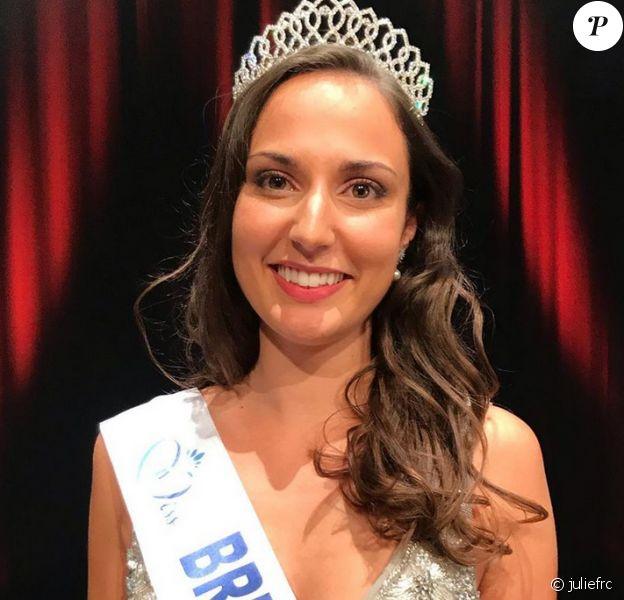 Julie Foricher est élue Miss Bretagne 2020 - Instagram