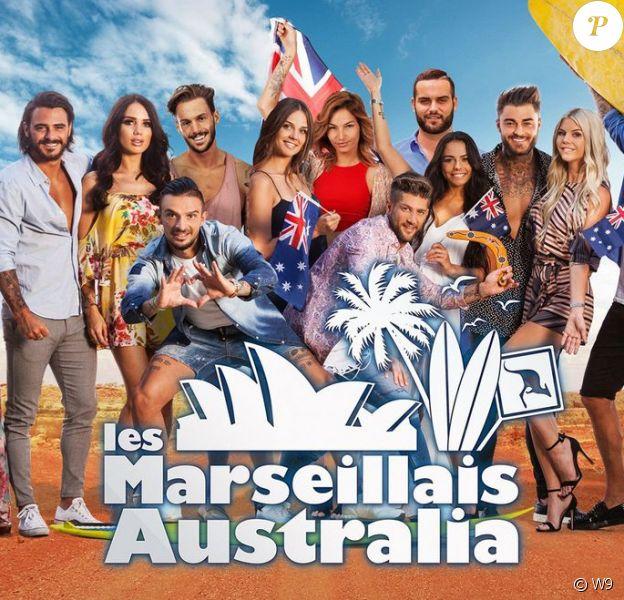 """Affiche des """"Marseillais Australia"""""""