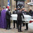 Obsèques de Juliette Gréco en l'église Saint-Germain-des-Prés, à Paris