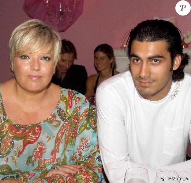 Archives - Laurence Boccolini et Mickael Fakailo, son mari - Cathy Guetta fête son anniversaire.