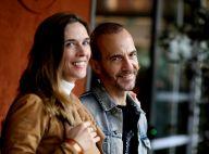 Calogero avec sa compagne Marie Bastide : le couple de sortie à Roland-Garros