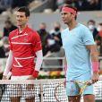 Novak Djokovic - Rafael Nadal remporte la finale homme des internationaux de France de Roland Garros à Paris le 11 octobre 2020. © JB Autissier / Panoramic / Bestimage