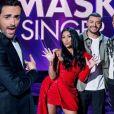 """Camille Combal, Anggun, Kev Adams, Jarry et Alessandra Sublet dans """"Mask Singer 2020"""""""