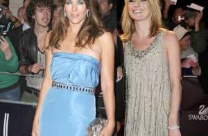 Liz Hurley et Kate Moss bien belles... pour le mariage !