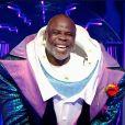 """Basile Boli était le Requin dans """"Mask Singer"""" le 21 novembre 2020."""