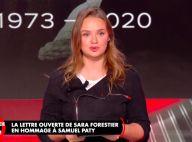 """Sara Forestier """"blessée dans son intime"""" : sa lettre poignante à Samuel Paty"""