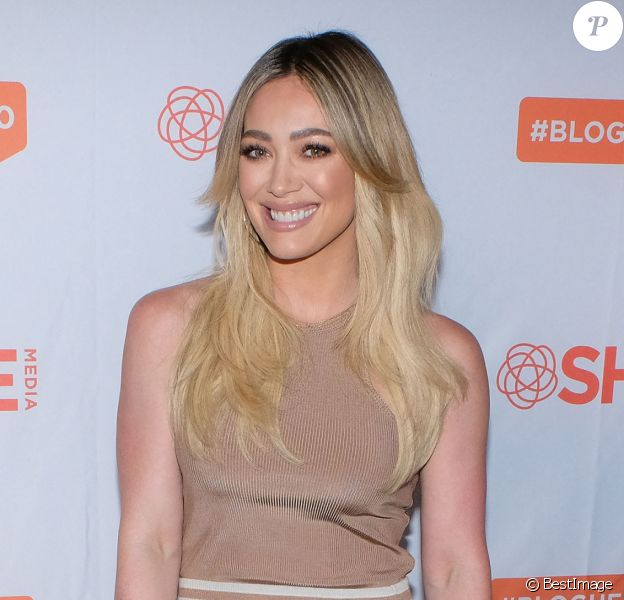 Hilary Duff - Photocall - BlogHer20 Health à Rolling Greens, Los Angeles, 2020.