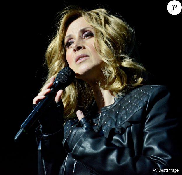 Lara Fabian en concert au Palac à Kiev.