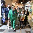 Exclusif - Elton John et son mari David Furnish passent des vacances avec leurs fils Zachary et Elijah sous le soleil de Capri en Italie. Le 1er octobre 2020.