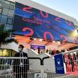 Soirée d'ouverture du Festival de Cannes 2020 au Palais des Festivals, à Cannes, le 27 octobre 2020. Ce Festival se déroule du 27 au 29 octobre 2020 dans des conditions sanitaires exceptionnelles liées à la pandémie de Coronavirus (Covid-19). © Bruno Bebert/Bestimage