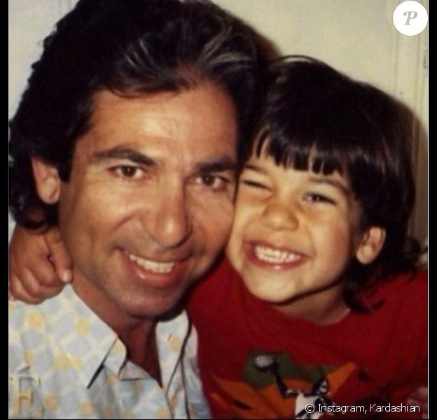 Photo de Robert Kardashian et son fils Robert Jr.