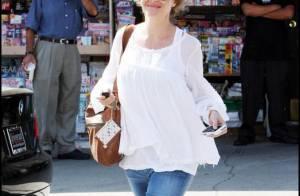 Rebecca Gayheart, la femme du Dr Glamour : Son ventre s'arrondit... mais elle est toujours aussi sexy !