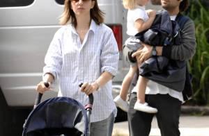 Quand Sofia Coppola se promène avec son chéri et leur adorable petite poupée, Romy... c'est rock'n'roll attitude !