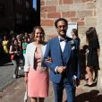 Ségolène Royal - Mariage de Thomas Hollande et de la journaliste Emilie Broussouloux à la mairie à Meyssac en Corrèze près de Brive, ville d'Emiie. Le 8 Septembre 2018. © Patrick Bernard-Guillaume Collet / Bestimage
