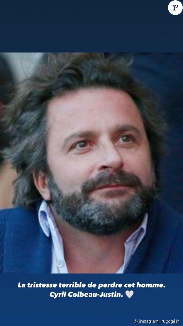 Hugo Gélin pleure la mort de Cyril Colbeau-Justin sur Instagram.