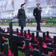 Camilla Parker Bowles, duchesse de Cornouailles, patronne de The Poppy Factory, a rendu hommage aux morts de la guerre en plaçant une croix dans le champ du souvenir de l'abbaye de Westminster, à l'abbaye de Westminster à Londres, avant le jour de l'armistice, le 4 novembre 2020.