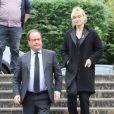 François Hollande et sa compagne Julie Gayet en Corrèze le 5 octobre 2019 © Patrick Bernard/Bestimage