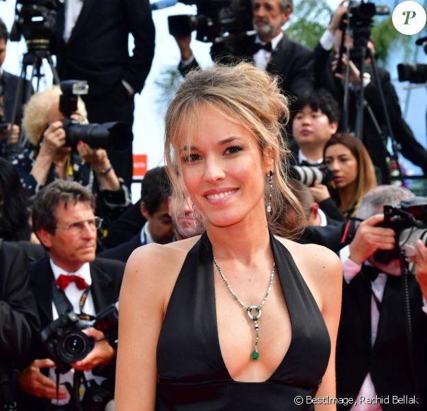 """Elodie Fontan à la projection du film """"Once Upon a Time... in Hollywood"""" lors du 72ème Festival International du Film de Cannes, France © Rachid Bellak/Bestimage"""