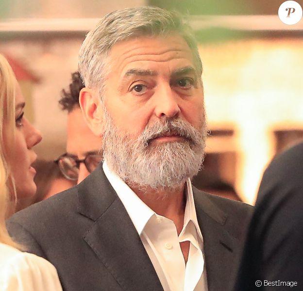 George Clooney et Brie Larson sur le tournage de la nouvelle publicité Nespresso à Madrid