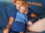 Anouchka Delon maman : son fils de 9 mois fan de Calogero, adorable vidéo avec papa